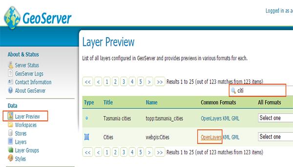 آموزش GeoServer
