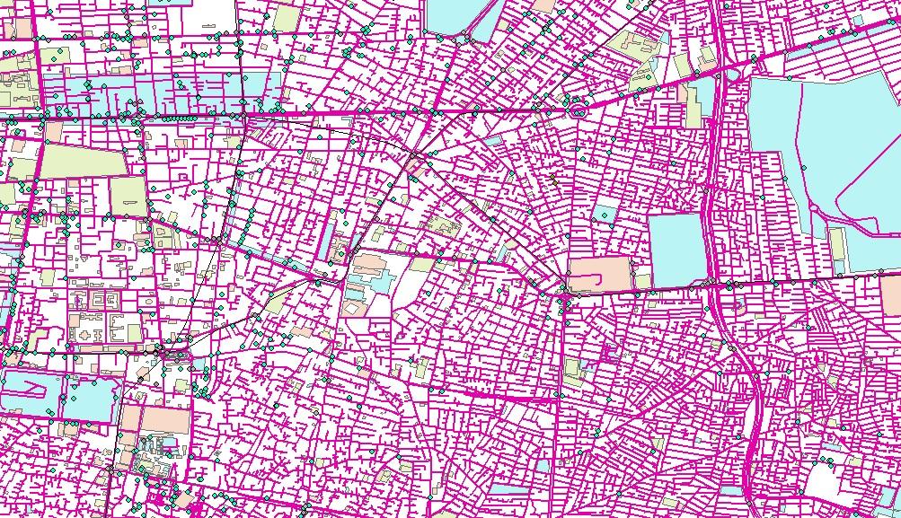 نقشه استان تهران