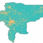 دانلود نقشه شبکه راه های استان اصفهان
