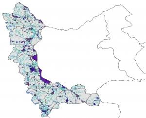 دانلود نقشه استان آذربایجان غربی