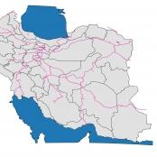 دانلود نقشه راه آهن ایران