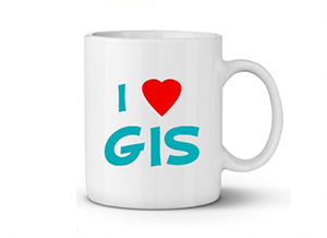 لیوان I Love GIS