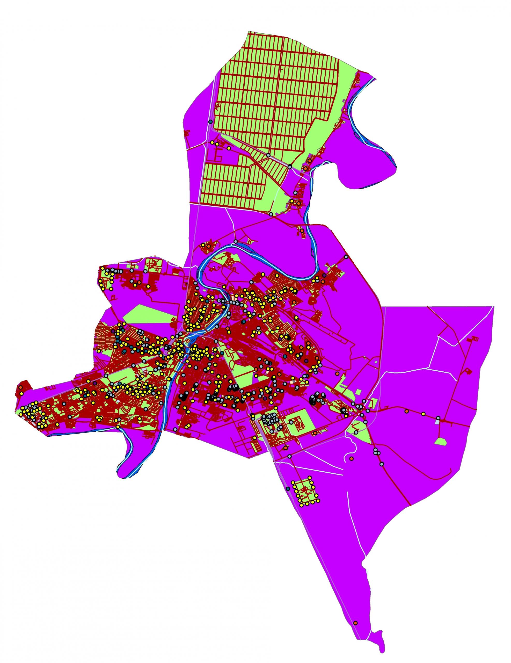 دانلود نقشه شهر اهواز