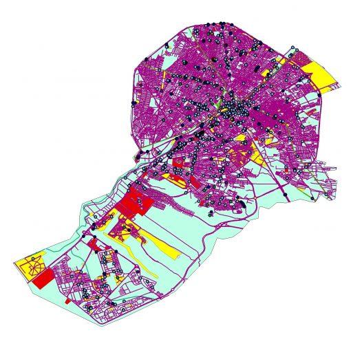 دانلود نقشه شهر قم