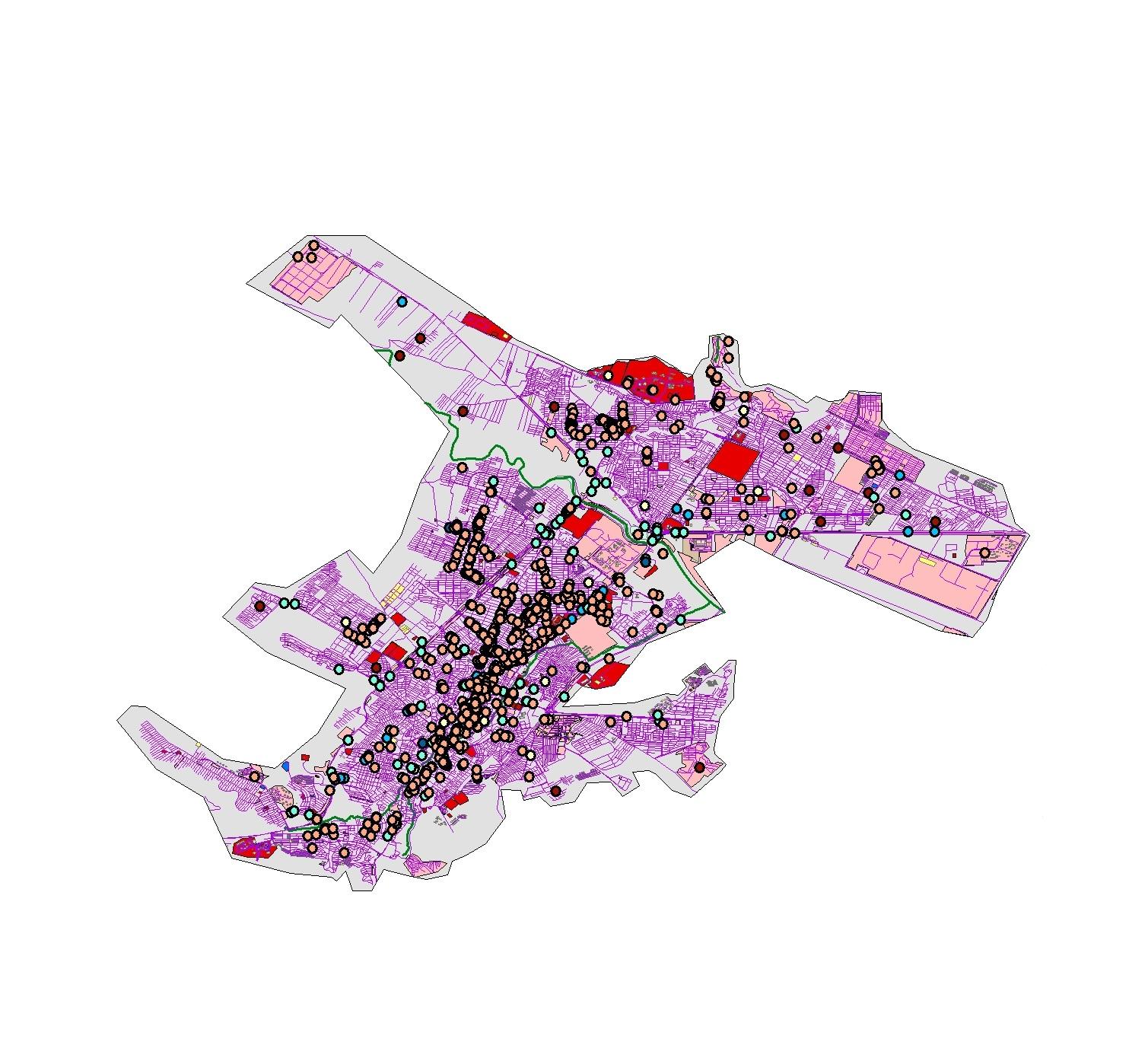 دانلود نقشه شهر کرمانشاه
