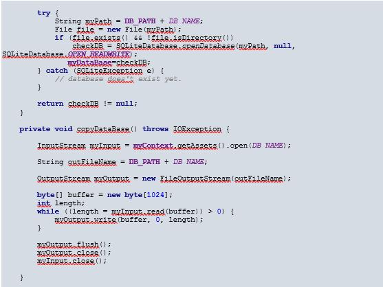 آموزش SQLite
