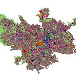 دانلود نقشه شهر ارومیه