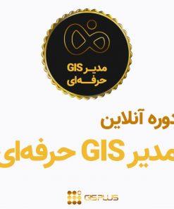 دوره آنلاین مدیر GIS حرفه ای