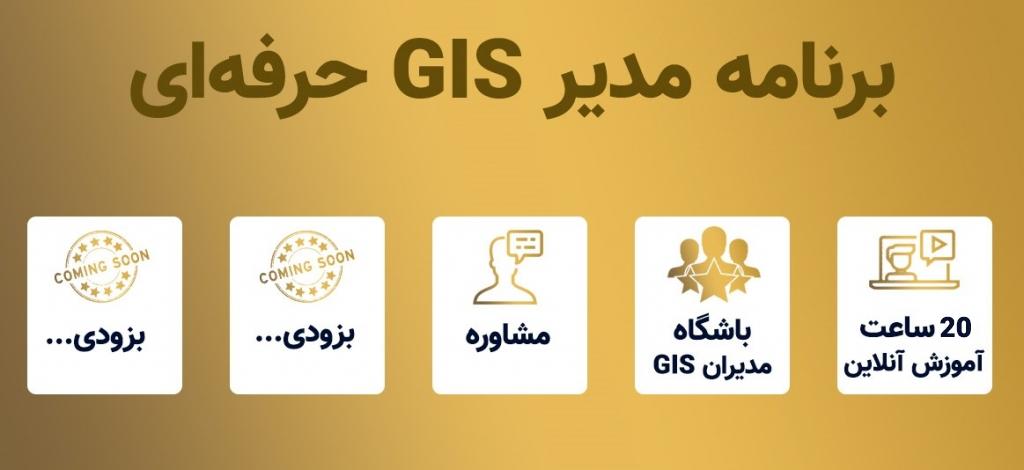 دوره مدیر GIS حرفه ای