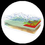 تحلیل های مکانی و سه بعدی GIS